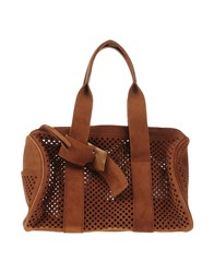 Pedro Garcia Handbags Dark Brown