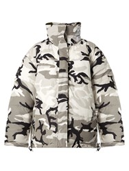 Vetements X Canada Goose Reversible Camo Print Parka Camouflage