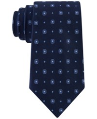 Club Room Men's Neat Dot Tie Only At Macy's Navy