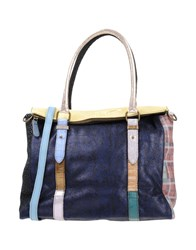 Ebarrito Handbags Dark Blue