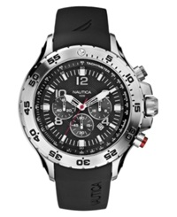 Nautica Watch Men's Chronograph Resin Strap N14536g