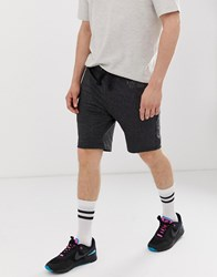 Blend Of America Jersey Shorts In Charcoal Grey