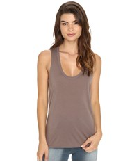 Rvca Baxter Tank Top Iron Women's Sleeveless Brown