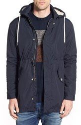 Men's Rhythm 'Transmission' Fishtail Parka With Removable Hood