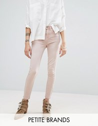 New Look Petite Skinny Jean Shell Pink