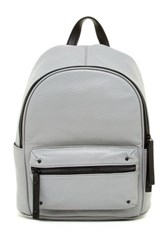 L.A.M.B. Hussel Leather Backpack Gray