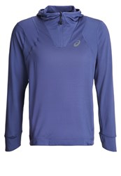 Asics Fuzex Sports Shirt Deep Cobalt Blue