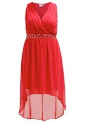 Junarose Jrviva Occasion Wear High Risk Red
