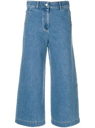 Christian Wijnants Peha Cropped Jeans Cotton Blue