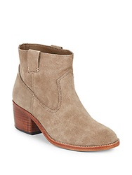 Dolce Vita Greggar Suede Ankle Boots Taupe