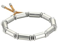 French Connection Tube Stretch Bracelet Silver Bracelet