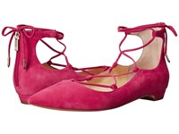 Ivanka Trump Tropica Fuxia Women's Flat Shoes Pink