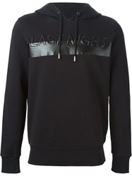 Diesel Black Gold Last Night Embroidered Sweatshirt