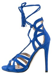 Missguided Sandals Cobalt Blue