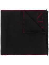 Lanvin Logo Knitted Scarf 60