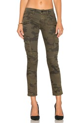 Hudson Jeans Colby Moto Skinny Cargo Rustic Camo