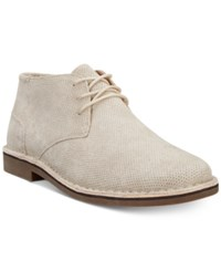 Kenneth Cole Reaction Men's Desert Sun Perforated Chukka Boots Men's Shoes Taupe