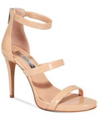 Inc International Concepts Sadiee Strappy Dress Sandals Only At Macy's Women's Shoes Summer Nude