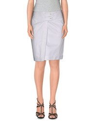 Blumarine Skirts Mini Skirts Women White