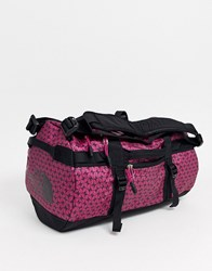 The North Face Base Camp Extra Small Duffel In Festival Pink