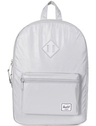 Herschel Youth Heritage Reflective Backpack Silver