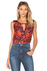 Cupcakes And Cashmere Aiden Tank Red