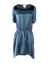 Girl By Band Of Outsiders Short Dresses Deep Jade