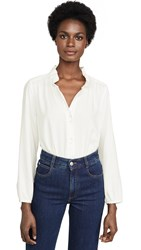 Ayr The Glimmer Blouse Ice Cream