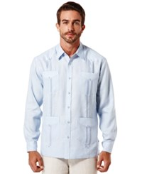 Cubavera Linen Guayabera Shirt Skyway