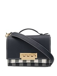 Zac Posen Earthette Accordion Shoulder Bag Blue