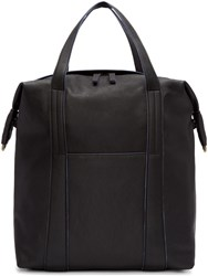 Maison Martin Margiela Black Leather Tote