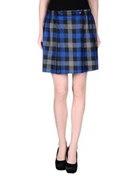 Silvian Heach Mini Skirts Blue