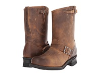Frye Engineer 12R Dark Brown Old Town Leather Men's Pull On Boots