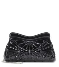 Miu Miu Patent Leather Shoulder Bag Black