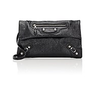Balenciaga Women's Arena Giant Envelope Clutch Black