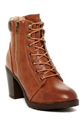 Modern Rebel Roonies Lace Up Boot Brown