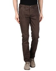 Fred Mello Casual Pants Dark Brown