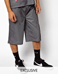 Reclaimed Vintage Basketball Shorts Black