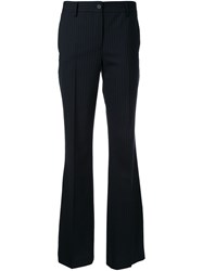 P.A.R.O.S.H. Flared Trousers Black