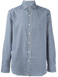 Salvatore Piccolo Checked Classic Shirt Blue