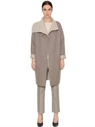 Max Mara Double Wool And Cashmere Coat