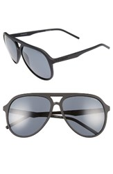 Polaroid Men's Eyewear 59Mm Aviator Sunglasses