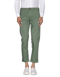 Closed Trousers Casual Trousers Men Green