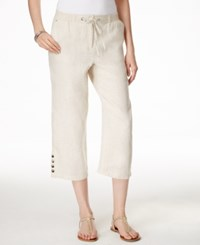 Jm Collection Embellished Pull On Capri Pants Only At Macy's