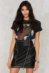 Nasty Gal Super Trash Sylvia Leather Skirt