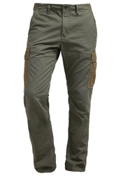 Scotch And Soda Cargo Trousers Army Oliv