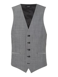 Kenneth Cole Men's Mercer Slim Fit Tonic Suit Waistcoat Chambray