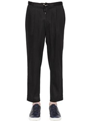 Emporio Armani 18.5Cm Cotton Satin Pants