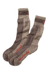 Smartwool Traverser Crew Socks Brown