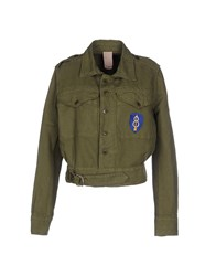 People Coats And Jackets Jackets Women Military Green